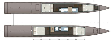 Catamaran Trawler Plans by 58 Trawler Catamaran Design By Stirling Design