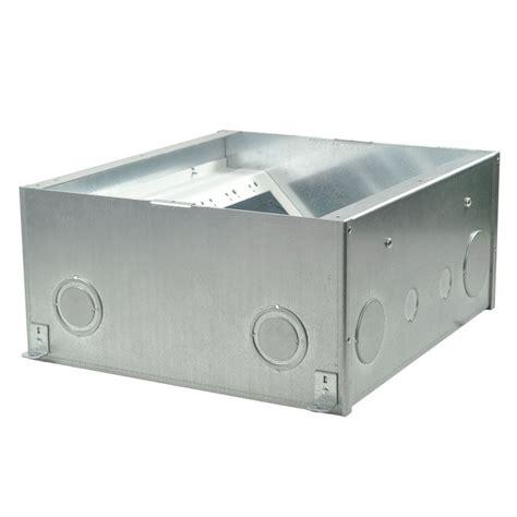 fsr fl 600p 6 b ul cul concrete floor box 6 quot conference room av