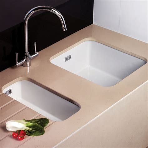 astini hton 100 1 0 bowl white ceramic undermount kitchen sink waste ebay