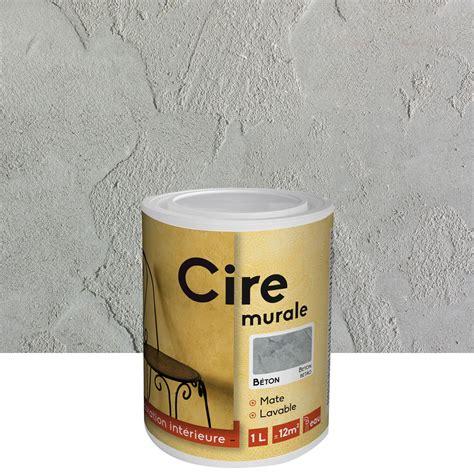 peinture 224 effet id cire b 233 ton 1 l leroy merlin