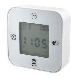 klockis orologio termometro allarme timer ikea