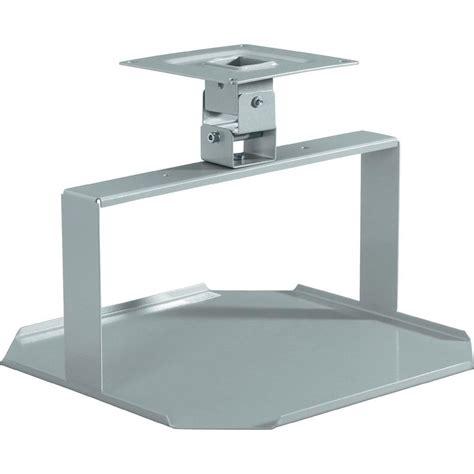 support plafond pour projecteur medium 2042582 rigide argent mat sur le site conrad