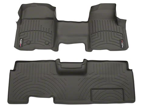 weathertech f 150 digitalfit front rear floor liners
