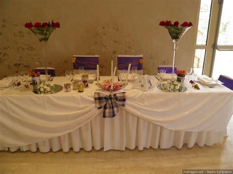 decoration de table d honneur mariage photo de mariage en 2017