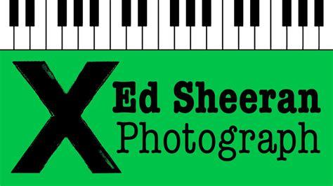 Photograph- Ed Sheeran (me Before You Ost)