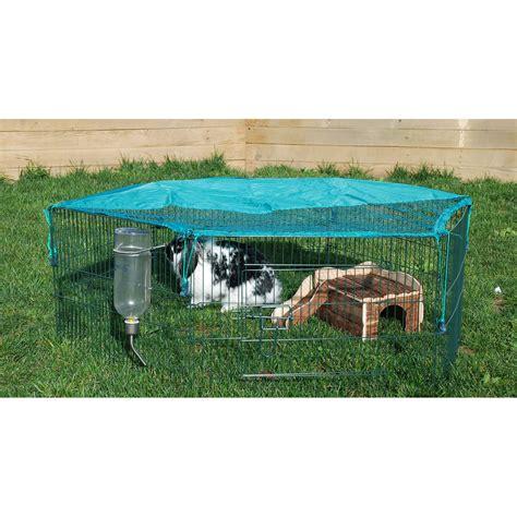 enclos hexagonal pour lapin ou cochon d inde s2580 achat vente clapier sur maginea