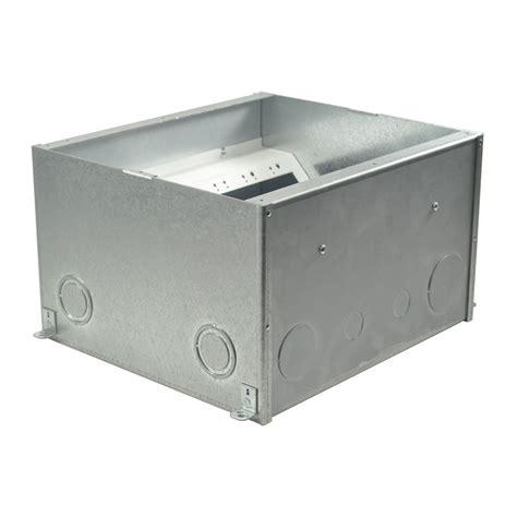 fsr fl 600p 8 b ul cul concrete floor box 8 quot conference room av