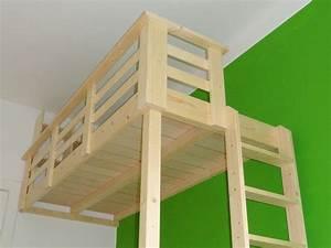 Günstig Bett Selber Bauen : ber ideen zu hochbett selber bauen auf pinterest hochbetten hochbett bauen und ~ Markanthonyermac.com Haus und Dekorationen
