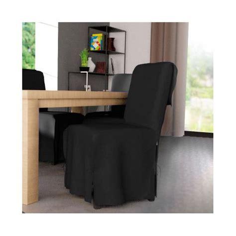 eminza housse de chaise gamme contemporaine noir pas cher achat vente housses canap 233 s