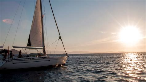 Sailing On Greece by Sailing Greece Mykonos To Santorini By G Adventures With