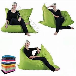 Outdoor Sitzsack Xxl : riesen sitzsack xxl sitzkissen 140x180 outdoor geeignet 14 trendige farben ebay ~ Markanthonyermac.com Haus und Dekorationen