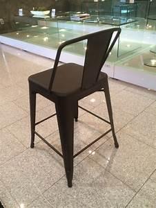 Barhocker 65 Cm : barstuhl metall im industriedesign barhocker anthrazit metall sitzh he 65 cm ~ Markanthonyermac.com Haus und Dekorationen
