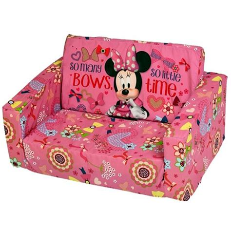disney minnie mouse flip out foam sofa settee alley cat themes