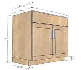 25 best ideas about kitchen cabinet sizes on