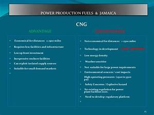Power Production Fuels & Jamaica