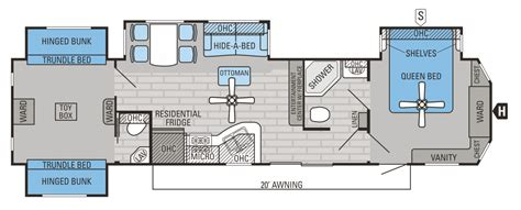 2 bedroom 5th wheel floor plans rooms
