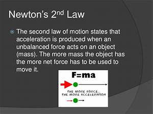 Newtons Second Law Examples In Everyday Life | www ...