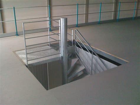 escalier 224 palier escaliers quart tournant m 233 tallique