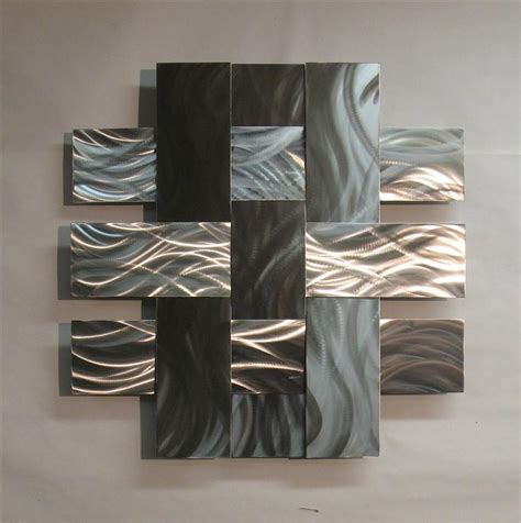 contemporary metal wall sculpture stainless 14s atlanta
