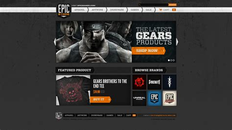 Epic Games Launches Online Store