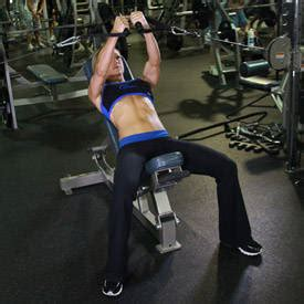 Barbell Incline Bench Press  Medium Grip Exercise Guide