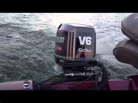 Mercury Outboard Motor Bogs Down Under Load by Outboard Surging Bogging Problems Funnycat Tv