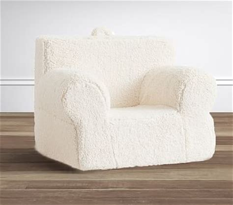 sherpa oversized anywhere chair 174 pottery barn