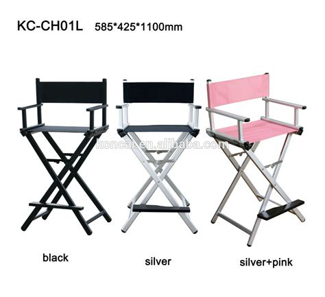 portable lightweight aluminum director chair barber