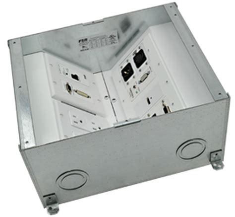 fsr fl 500p 3 b ul listed floor pour box 3 quot 4x1 areas conference room av