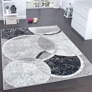 Teppich Wohnzimmer Grau : designer teppich wohnzimmer teppich kreis muster in grau creme preishammer wohn und ~ Markanthonyermac.com Haus und Dekorationen
