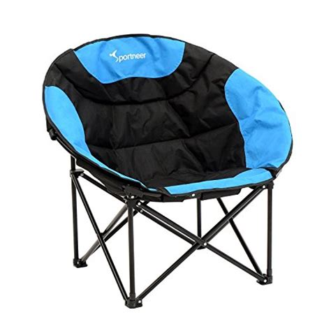sportneer moon saucer lightweight folding cing chair with import it all