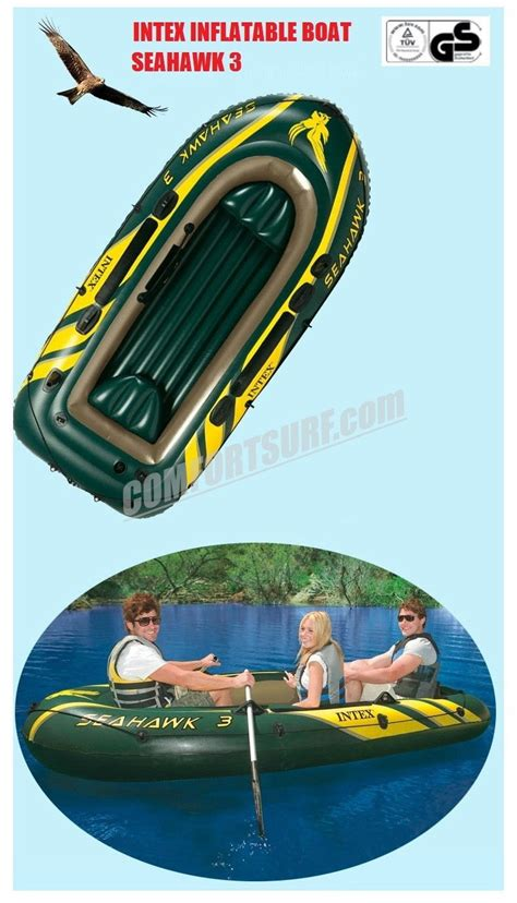 Intex Seahawk 3 Inflatable Boat by Seahawk 3 Intex 68349 3 Persons Kayak Rescue Fishing