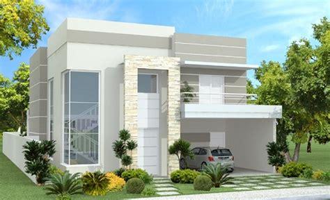+100 Fachadas De Casas → Modernas E Baratas (aqui