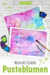 Malen Mit Kindern : malen mit kindern wunderbare pusteblumen mit wasserfarben malen doro kaiser grafik ~ Markanthonyermac.com Haus und Dekorationen