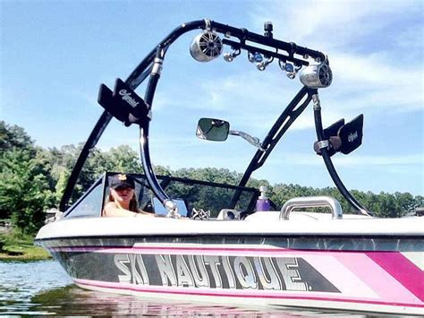 Wake Boat With Cabin by Ascent Wake Tower Reviews Customer Photo Gallery