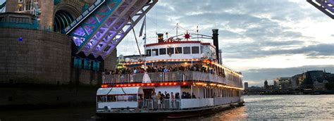 Party Boat East London by New Orleans Paddle Steamer Boat Thames Boat Hire London