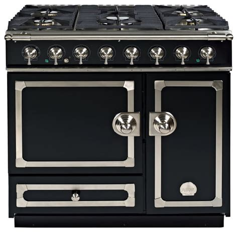 la cornue cornufe 90cm dual fuel gas hob range cooker traditional gas ranges and electric