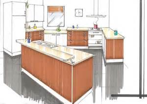 dessin d une chambre en perspective 8 comment dessiner une cuisine kirafes