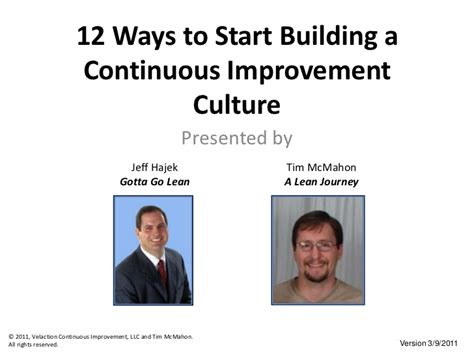 12 Ways To Start Building A Continuous Improvement Culture. Finding A Job Websites Web Promotion Partners. Metal On Metal Hip Replacement. Medical Office Assistant Salary Per Hour. Vehicle Accident Claim Costa Mesa Electrician. Litigation Case Management Software. Bankruptcy Chapter 11 How To Hack An Iphone. Hot Springs Community College. Types Of Business Intelligence Tools