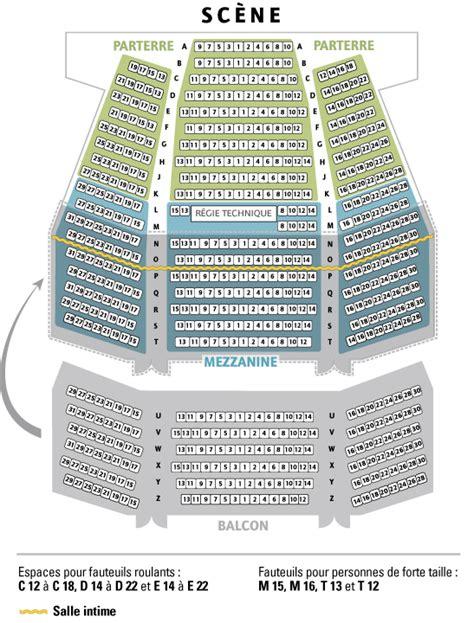 plan de la salle salle de spectacles r 233 gionale desjardins de new richmond