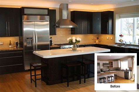 Before And After Kitchen Cabinet Refacing