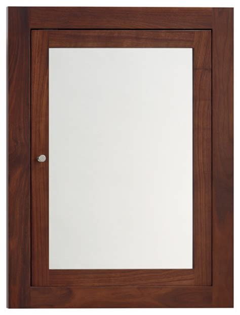 ronbow neo classic solid wood framed medicine cabinet