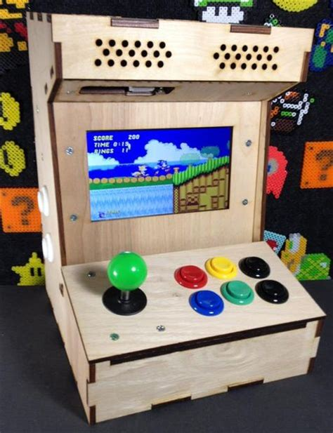 build your own mini arcade cabinet with raspberry pi raspberry