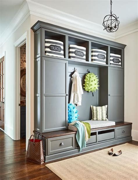 Beadboard Entryway Cabinet With Doors  Cabinets Matttroy