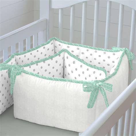 mint herringbone crib bedding neutral baby bedding carousel designs