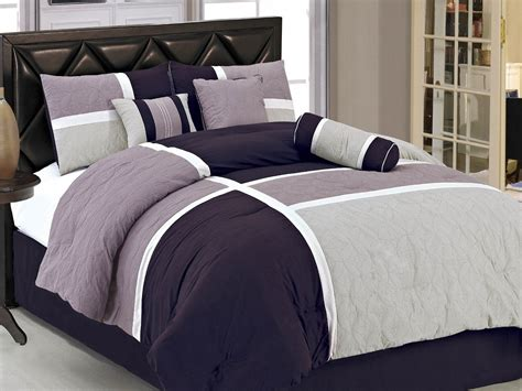 Lavender And Grey Bedding by Total Fab Grey And Purple Comforter Bedding Sets
