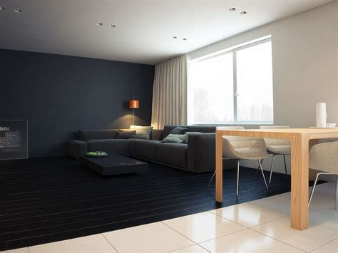 Minimalist Apartment : Contemporary Minimalist Apartment In St. Petersburg Exudes