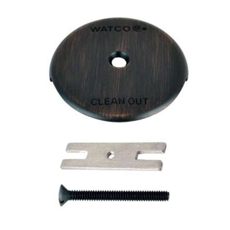 bathtub overflow plate adapter bar watco 1 bathtub overflow plate kit rubbed bronze