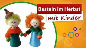 Basteln Im Herbst : basteln im herbst mit kindern trendmarkt24 bastelidee youtube ~ Markanthonyermac.com Haus und Dekorationen