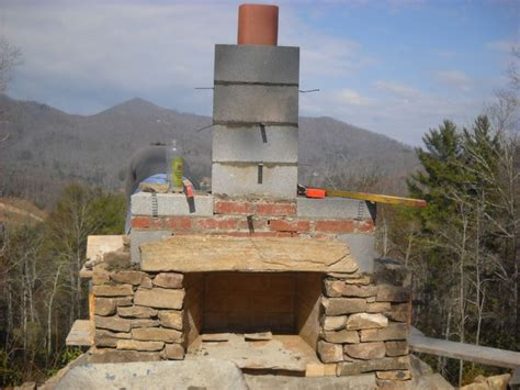 Outdoor Fireplaces : How To Build An Outdoor Stone Fireplace Step By Step